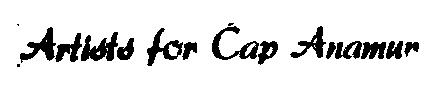 Artists for Cap Anamur