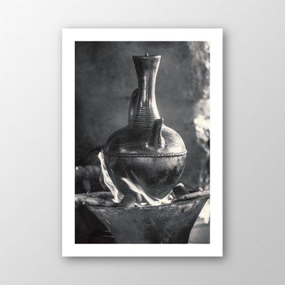 """Coffe Ceremony, Lailibella (IV)"", Thomas Berghaus"