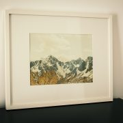 """Mountains of Gold #6"", Florina W. Müller"
