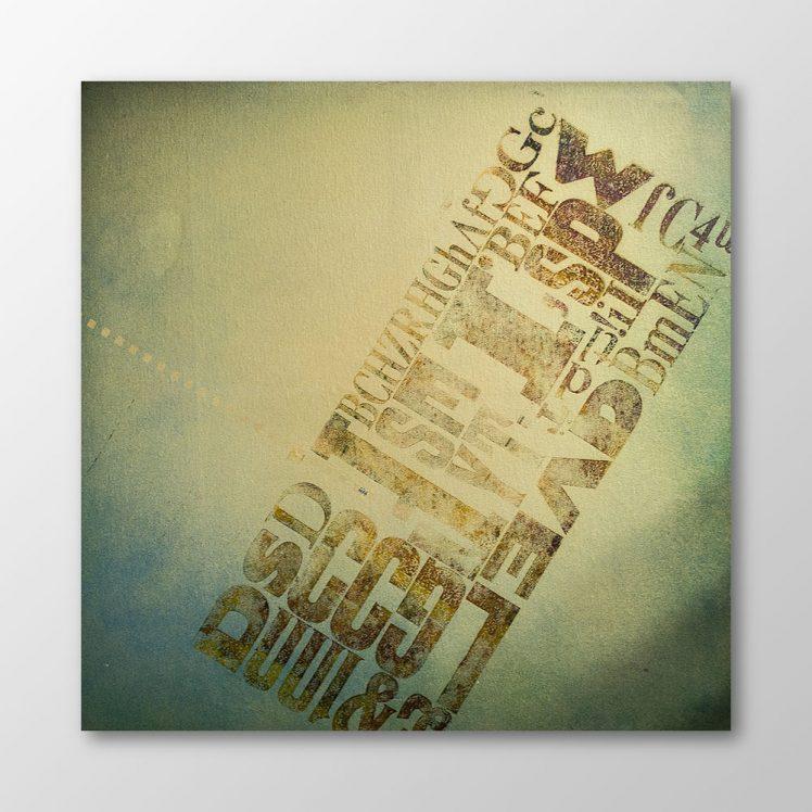 """Typomani"", Haweng, Artists for Cap Anamur"