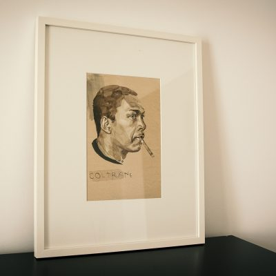 """John Coltrane"", Julian Rentzsch"