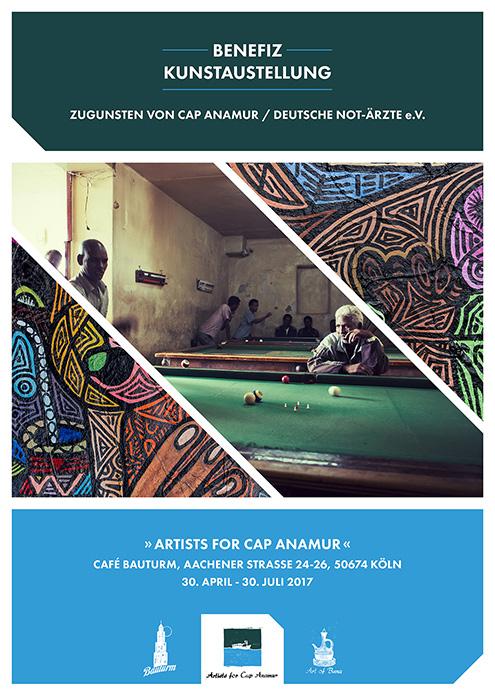 Café Bauturm Benefiz-Kunstausstellung 2017