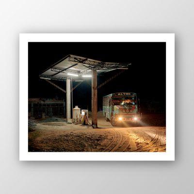 """""""Estación de autobús"""", Frank Schoepgens"""