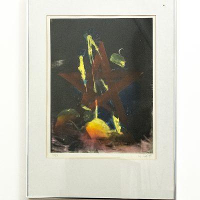 "Heinz Zolper ""o.T. (Radierung)"""