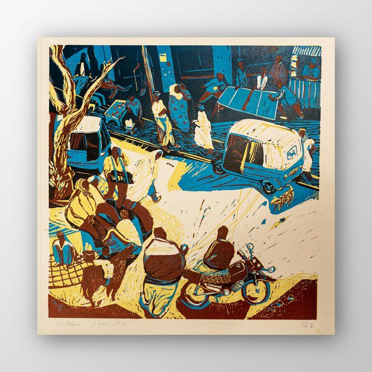 """Algeria Street"", James Albon"
