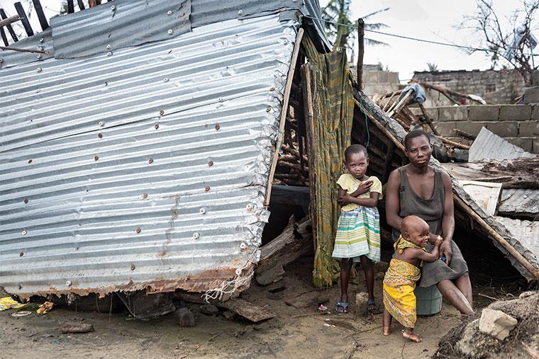 Factfindung eines Cap Anamur Teams nach der Unwetterkatastrophe (Zyklon Idai) in Mosambik