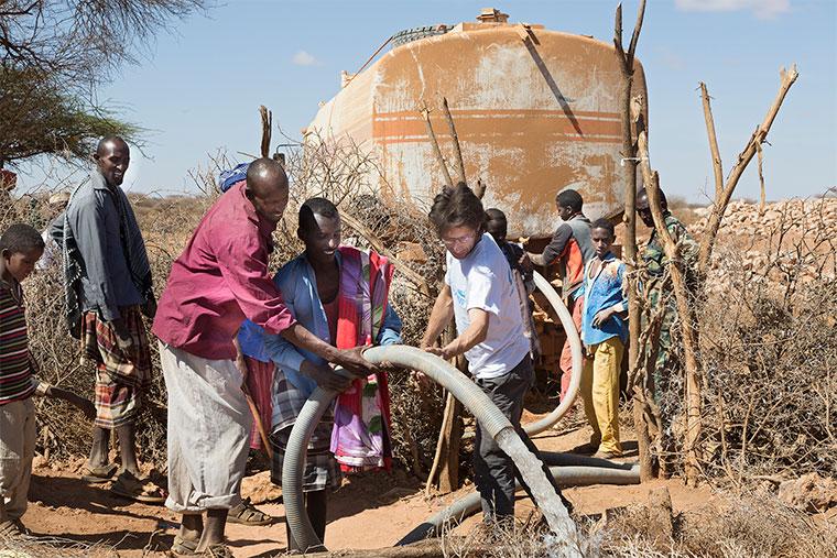 Wasserprojekt, Somalia