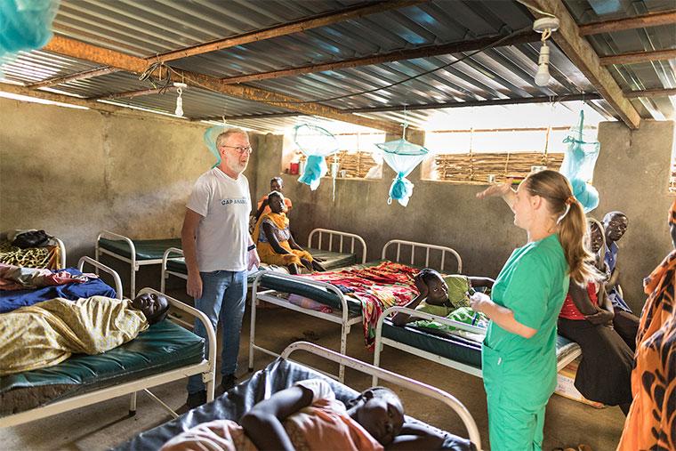 Cap Anamur Krankenhaus in Lwere, Sudan