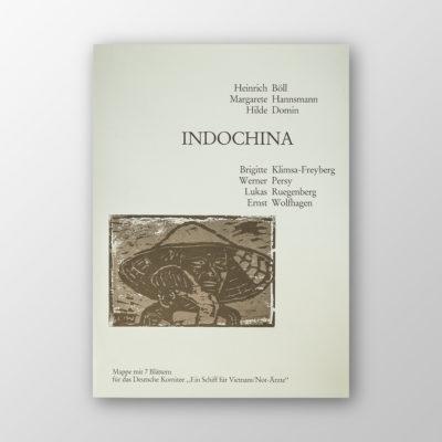 Indochina Mappe aus dem Besitz von Heinrich Böll