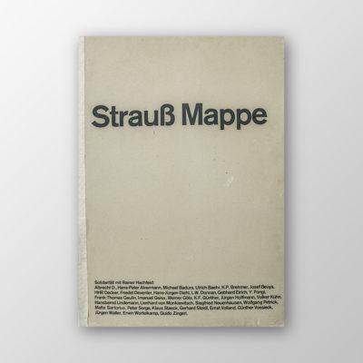 Strauß Mappe (u.a. Jospeh Beuys) aus dem Besitz von Heinrich Böll